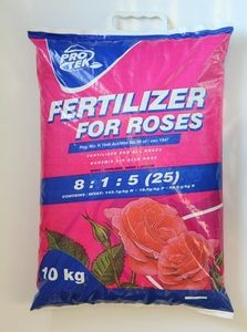 Fertiliser for Roses